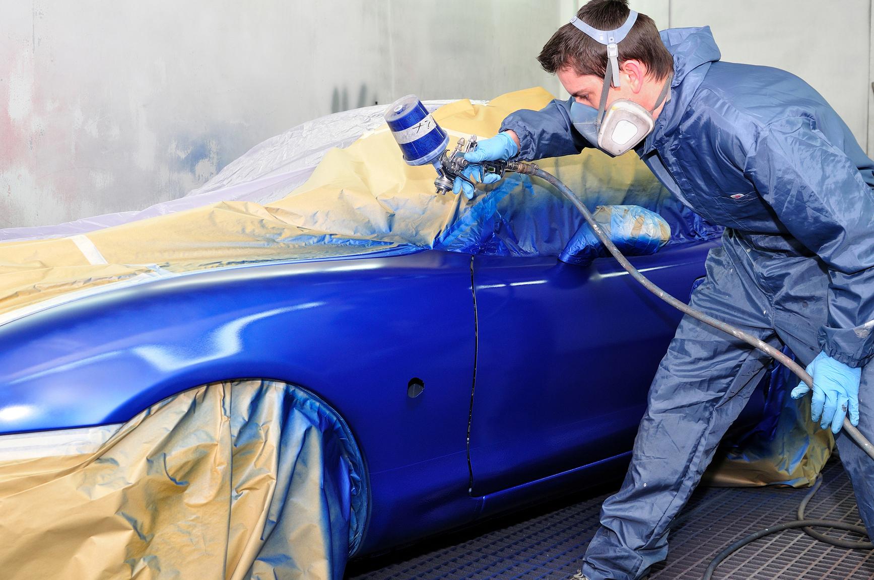 Vehicle Spray Painting Singapore