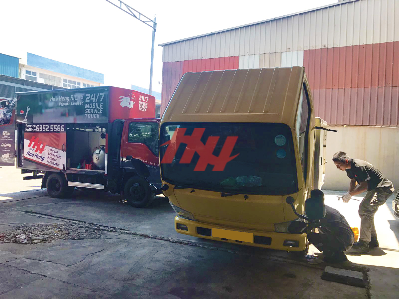 24Hrs Mobile Truck Repair and Service